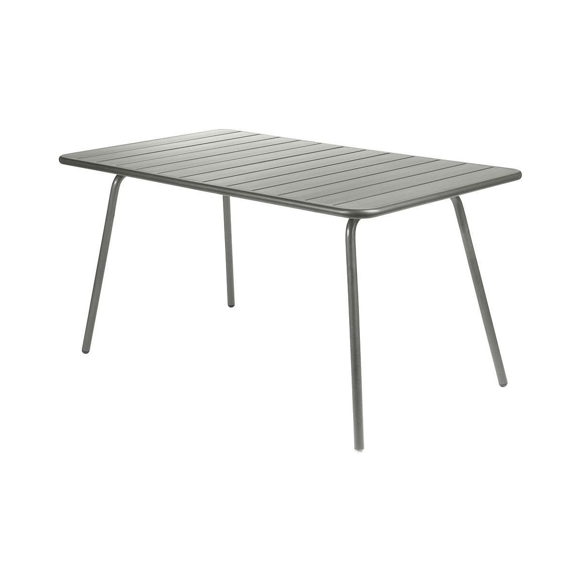 LUXEMBOURG by Fermob Table 143x80 cm romarin