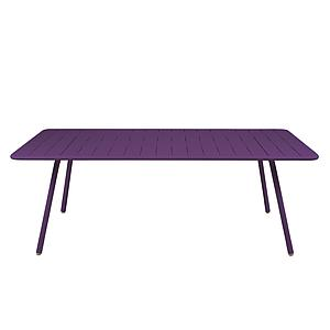 LUXEMBOURG by Fermob Table 8 personnes aubergine