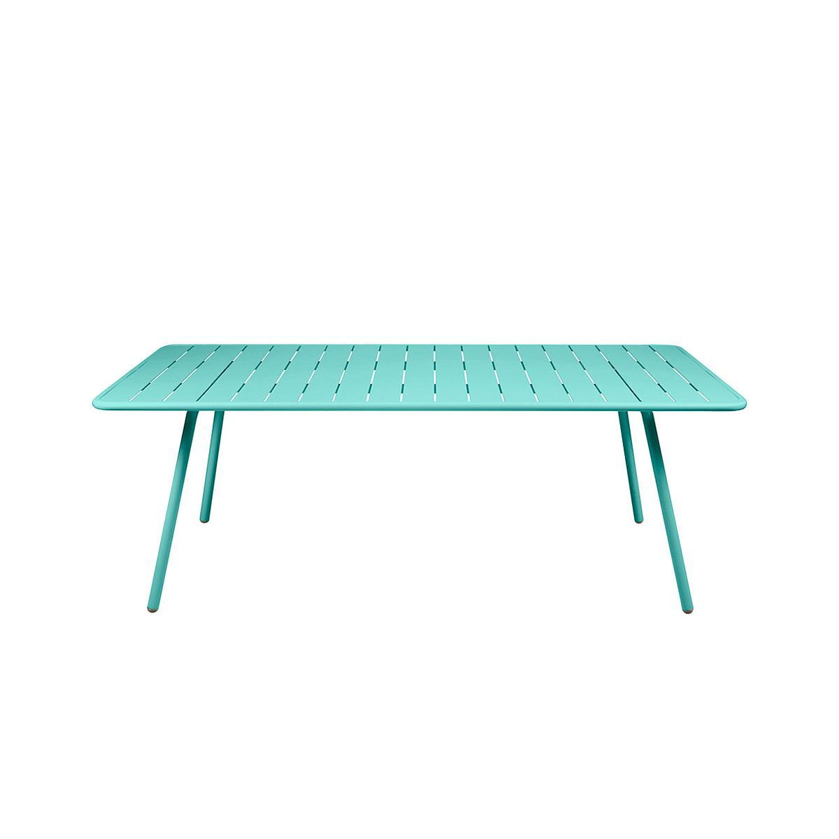 LUXEMBOURG by Fermob Table 8 personnes Bleu Lagune