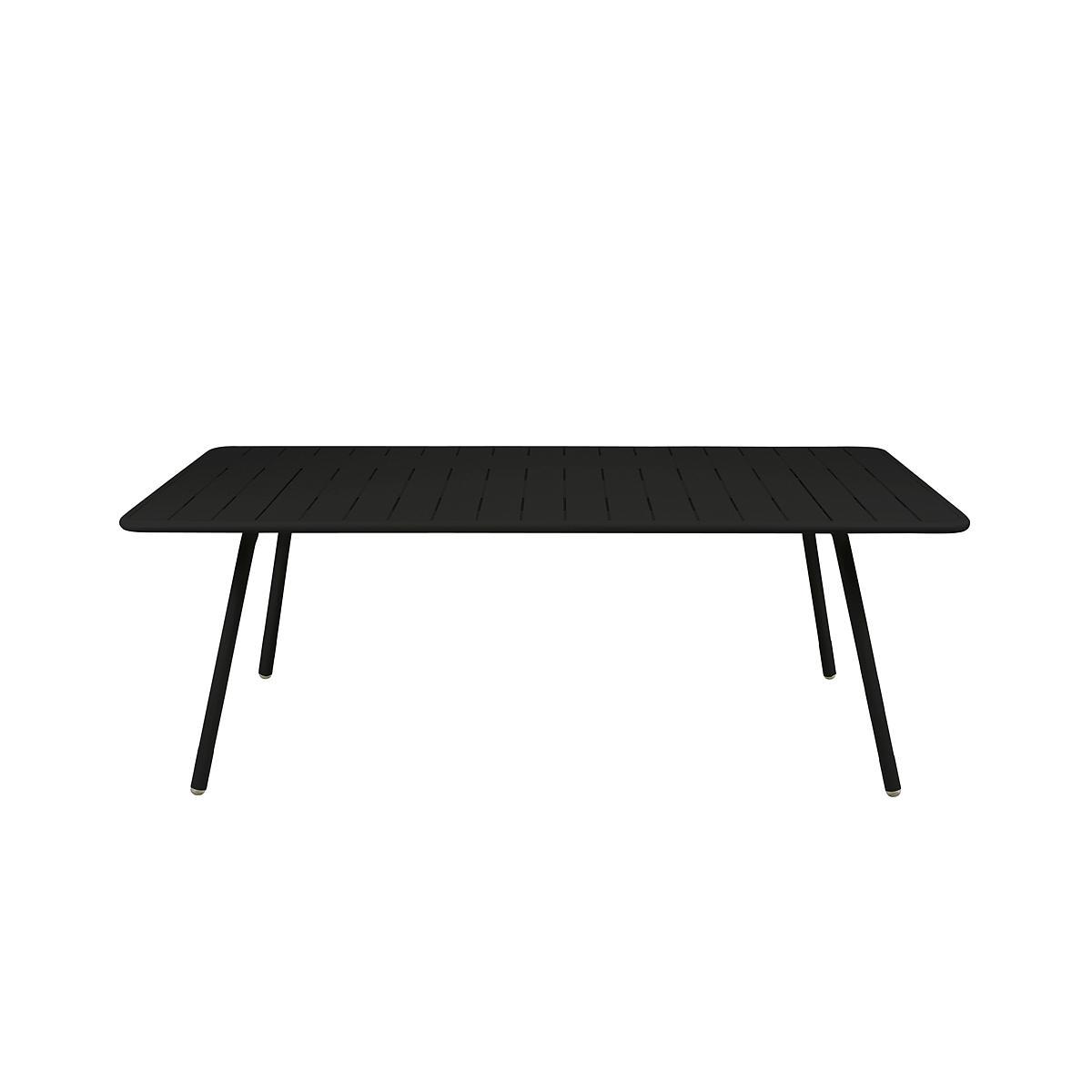 LUXEMBOURG by Fermob Table 8 personnes noir réglisse