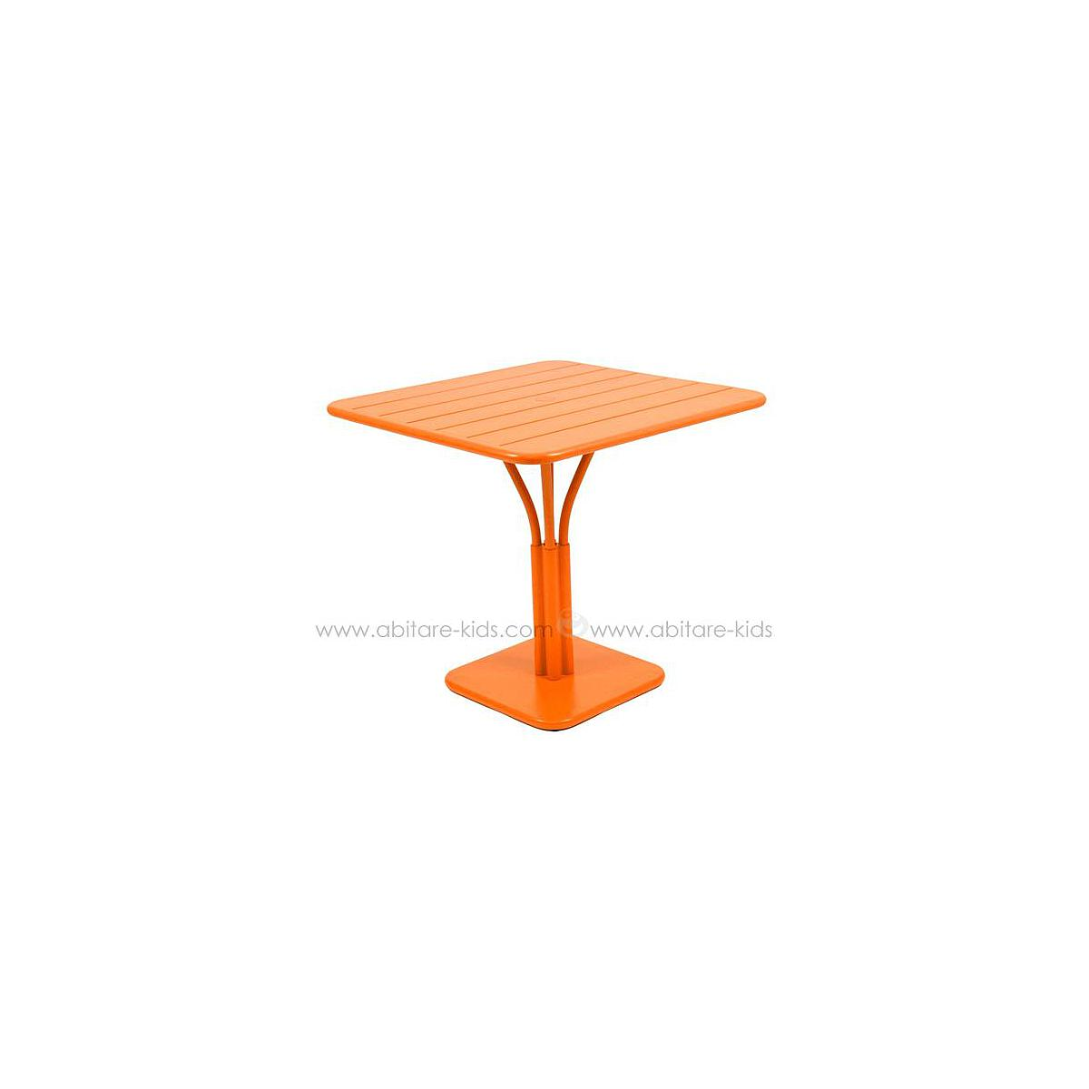LUXEMBOURG by Fermob Table 80x80 cm carotte