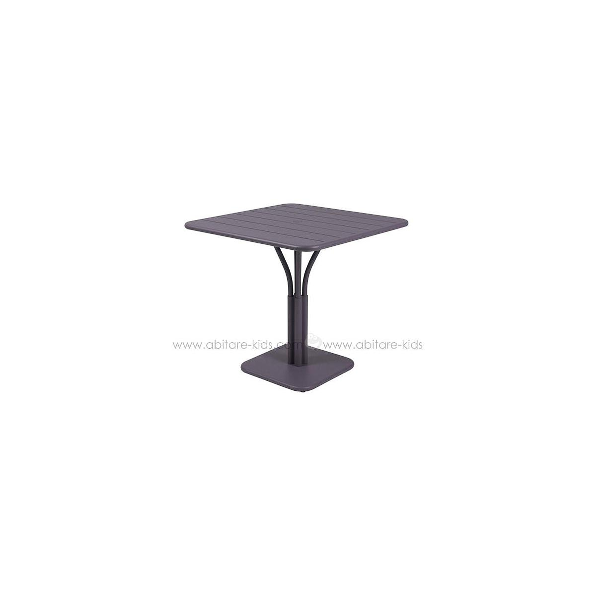 LUXEMBOURG by Fermob Table 80x80 cm prune