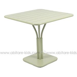 LUXEMBOURG by Fermob Table 80x80 cm tilleul