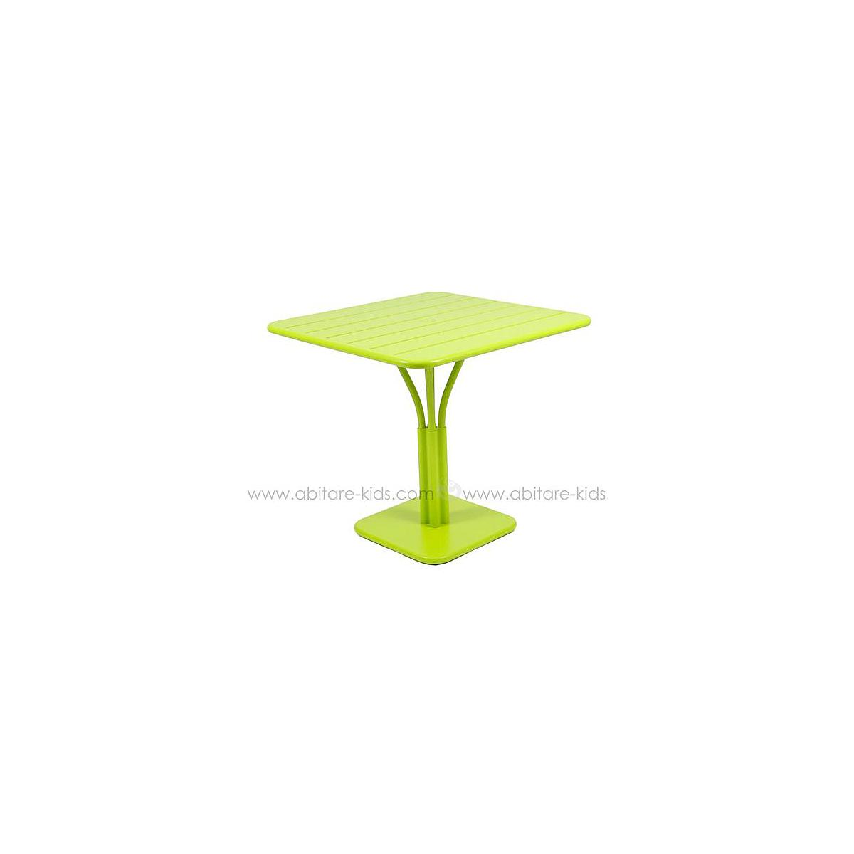LUXEMBOURG by Fermob Table 80x80 cm verveine