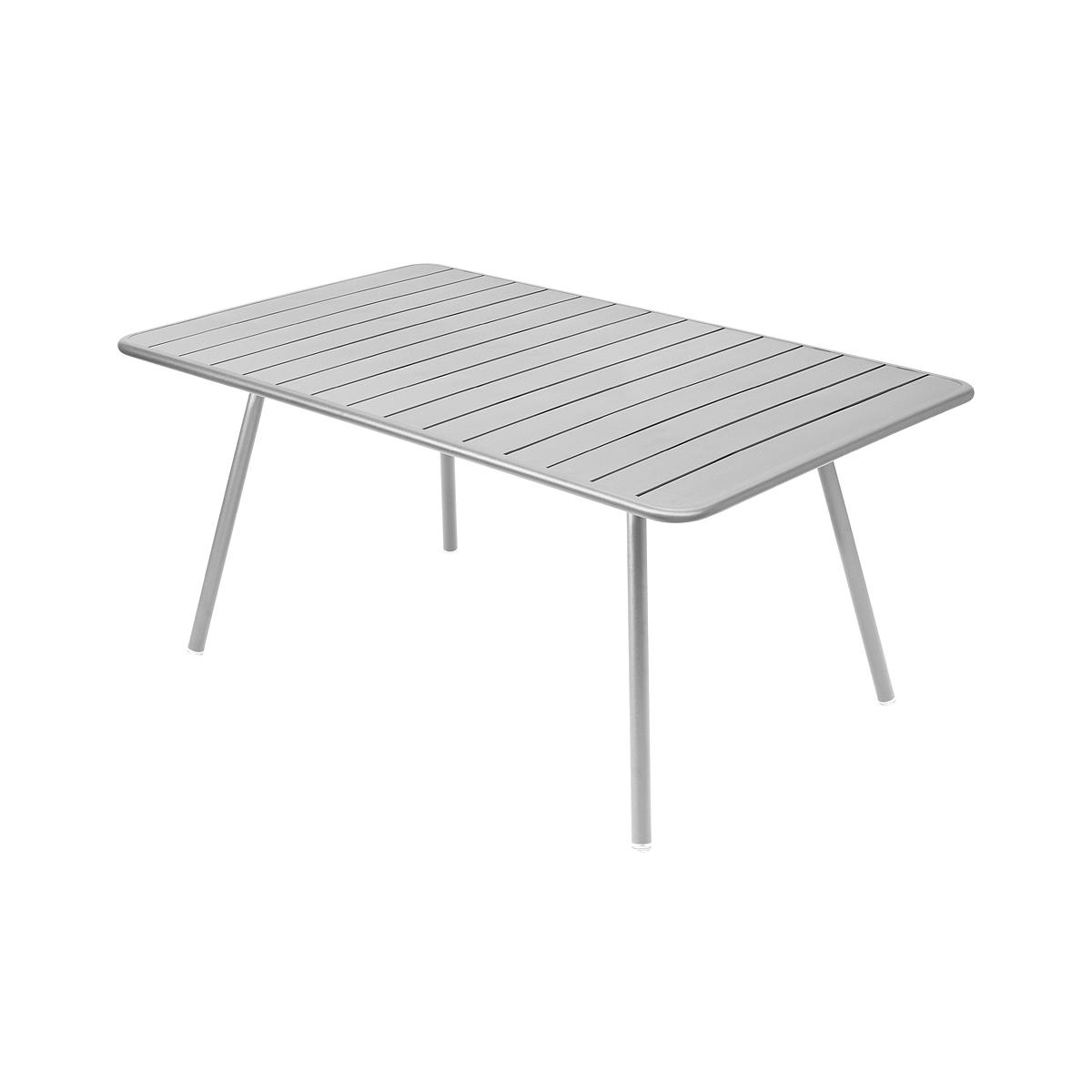 LUXEMBOURG by Fermob Table confort 6 gris métal