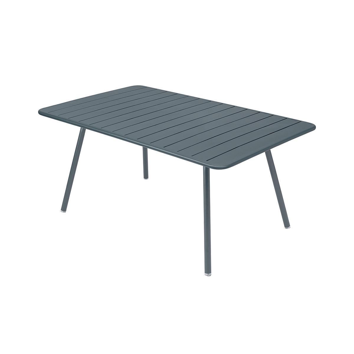 LUXEMBOURG by Fermob Table confort 6 gris orage