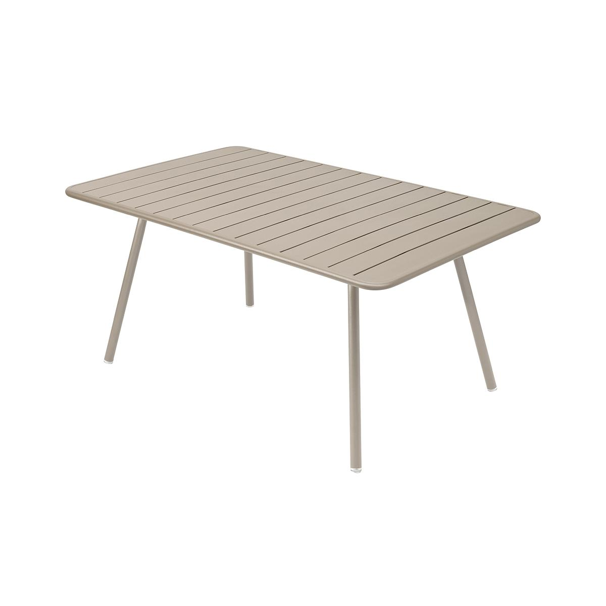 LUXEMBOURG by Fermob Table confort 6 muscade