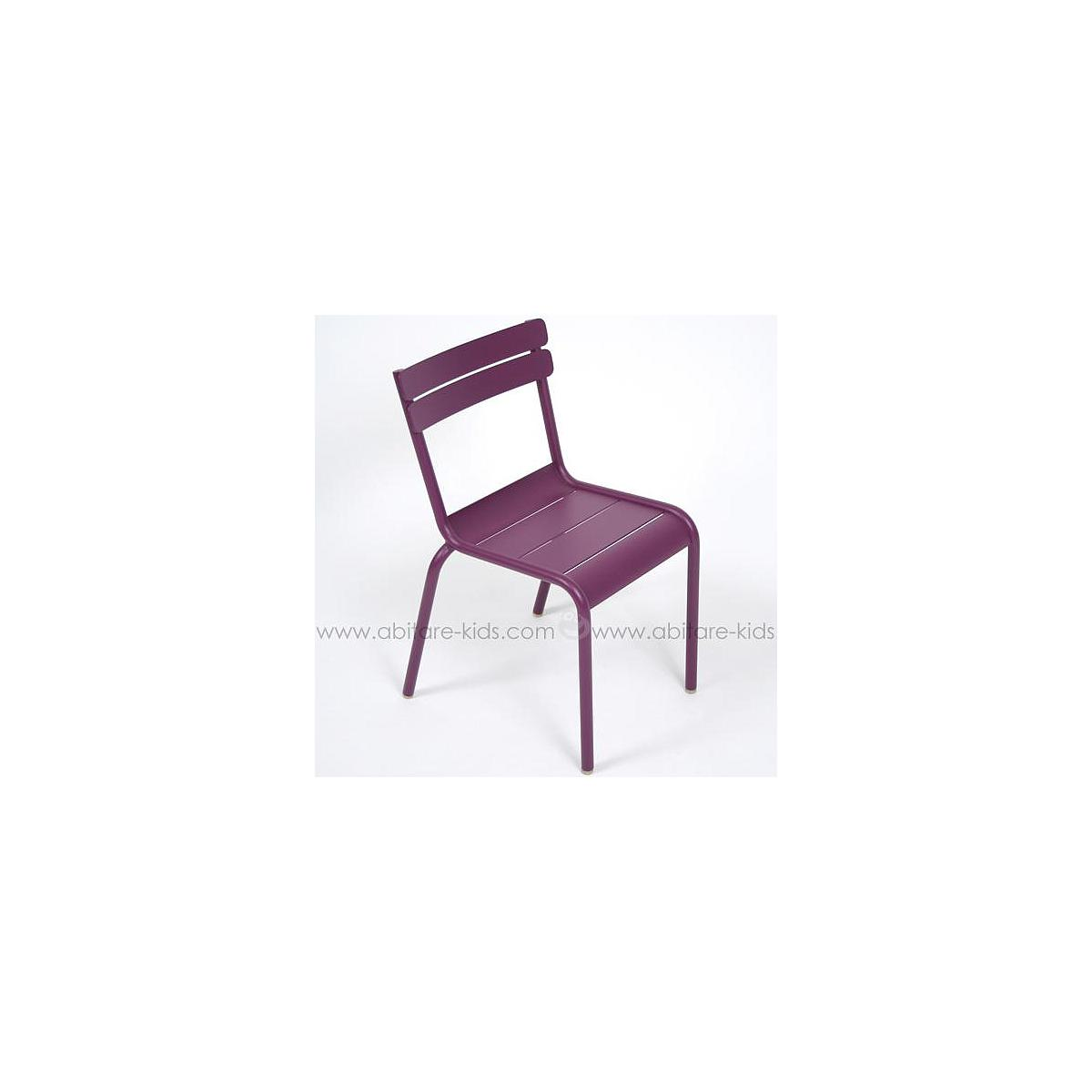 LUXEMBOURG KID by Fermob Chaise aubergine