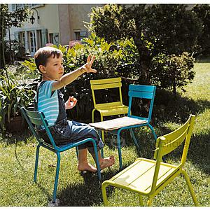 LUXEMBOURG KID by Fermob Chaise blanc coton