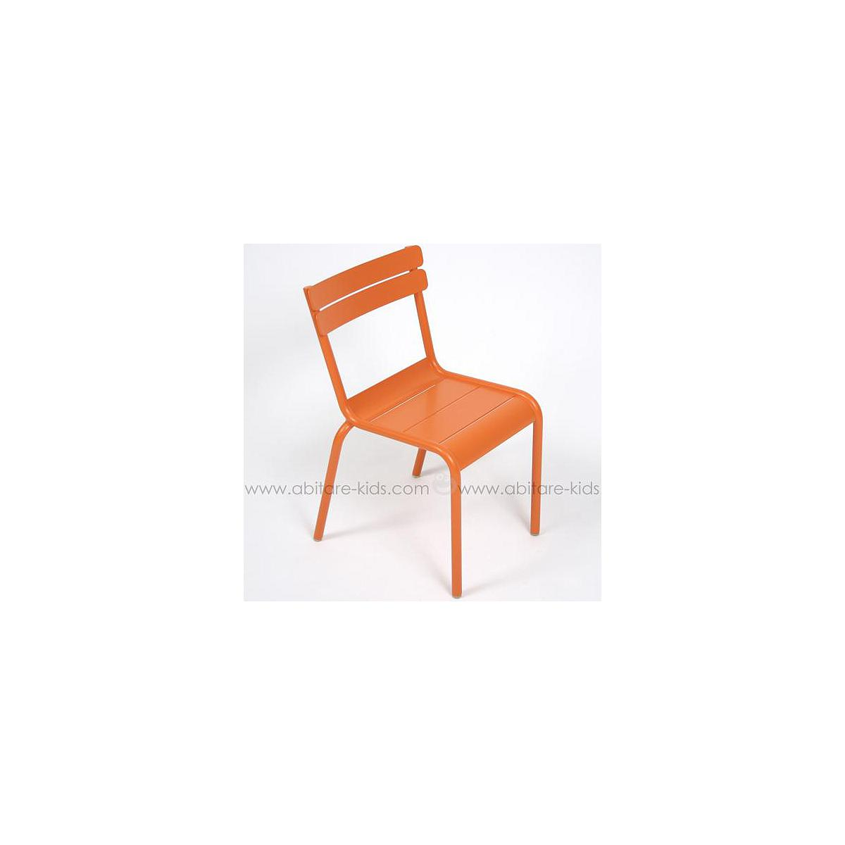 LUXEMBOURG KID by Fermob Chaise carotte
