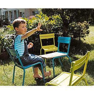 LUXEMBOURG KID by Fermob Chaise gris métal