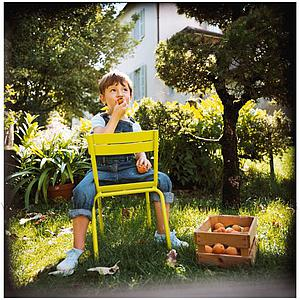 LUXEMBOURG KID by Fermob Chaise muscade
