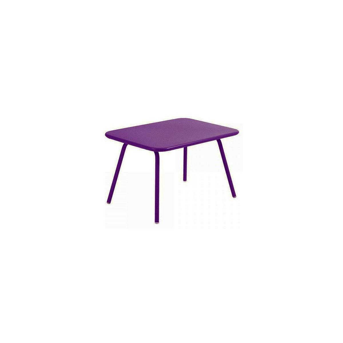 LUXEMBOURG KID by Fermob Table aubergine