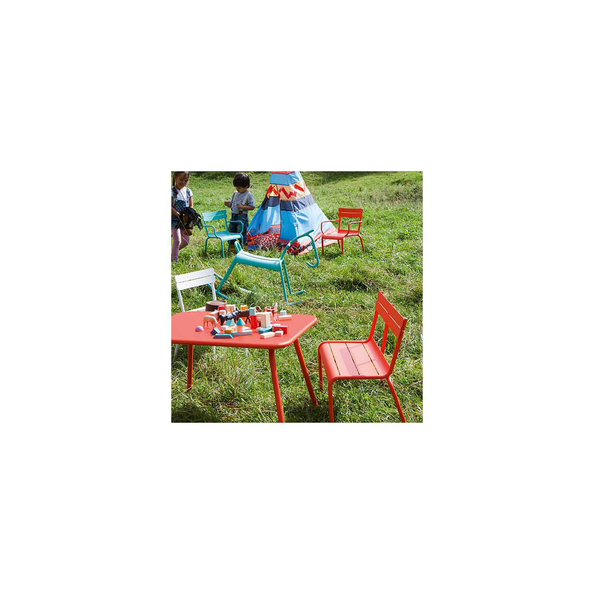 LUXEMBOURG KID by Fermob Table coquelicot
