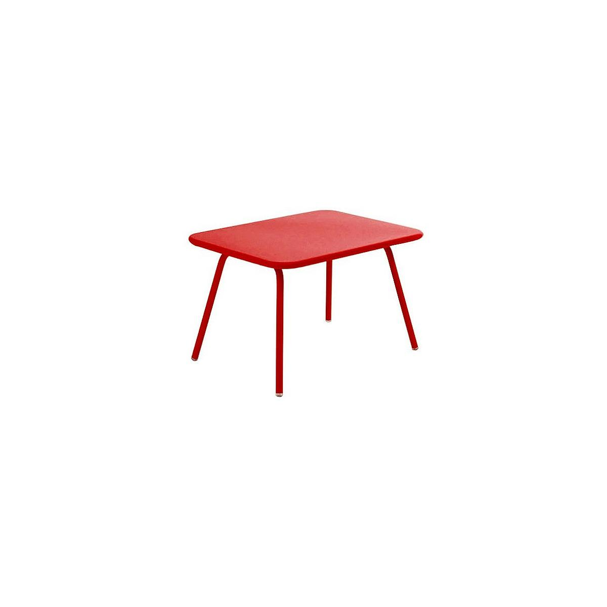 LUXEMBOURG KID by Fermob Table rouge piment