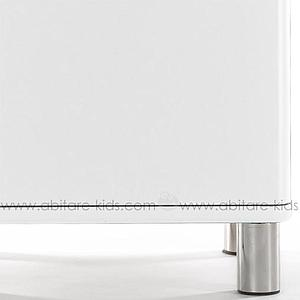 MALIBU by Tenzo Armoire vitrée standard- Blanc