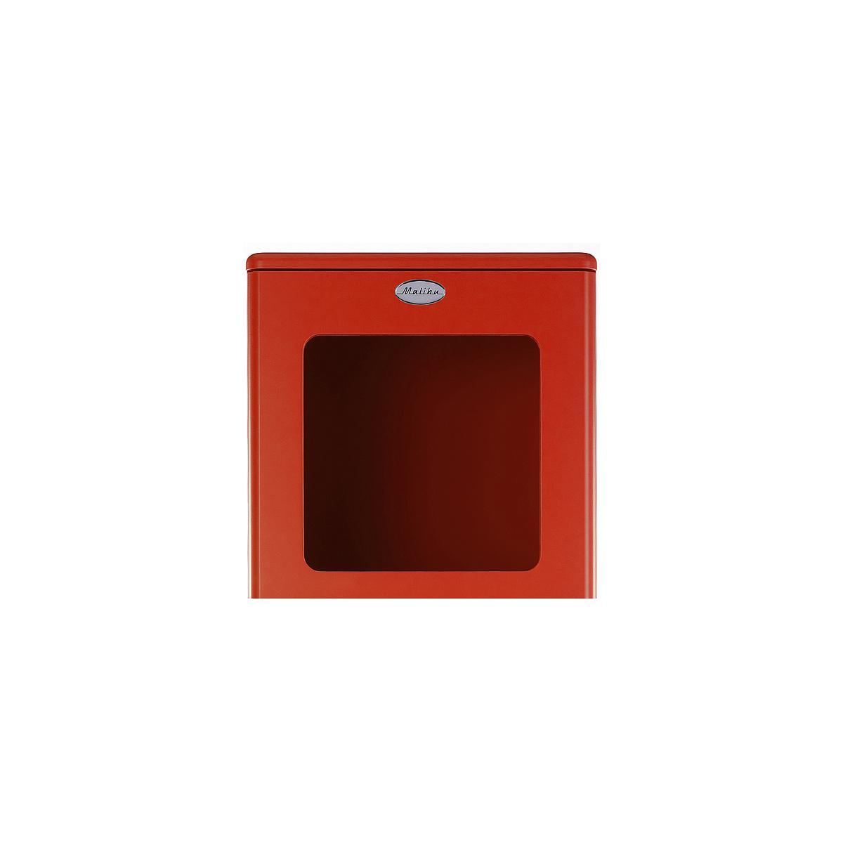 MALIBU by Tenzo Armoire vitrée standard- Rouge