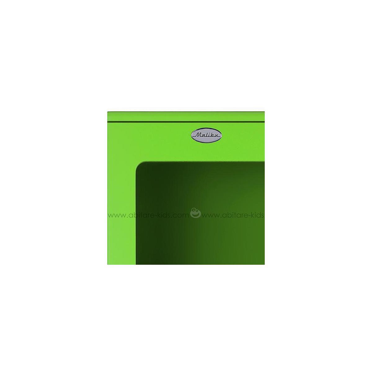 MALIBU by Tenzo Armoire vitrée standard- Vert