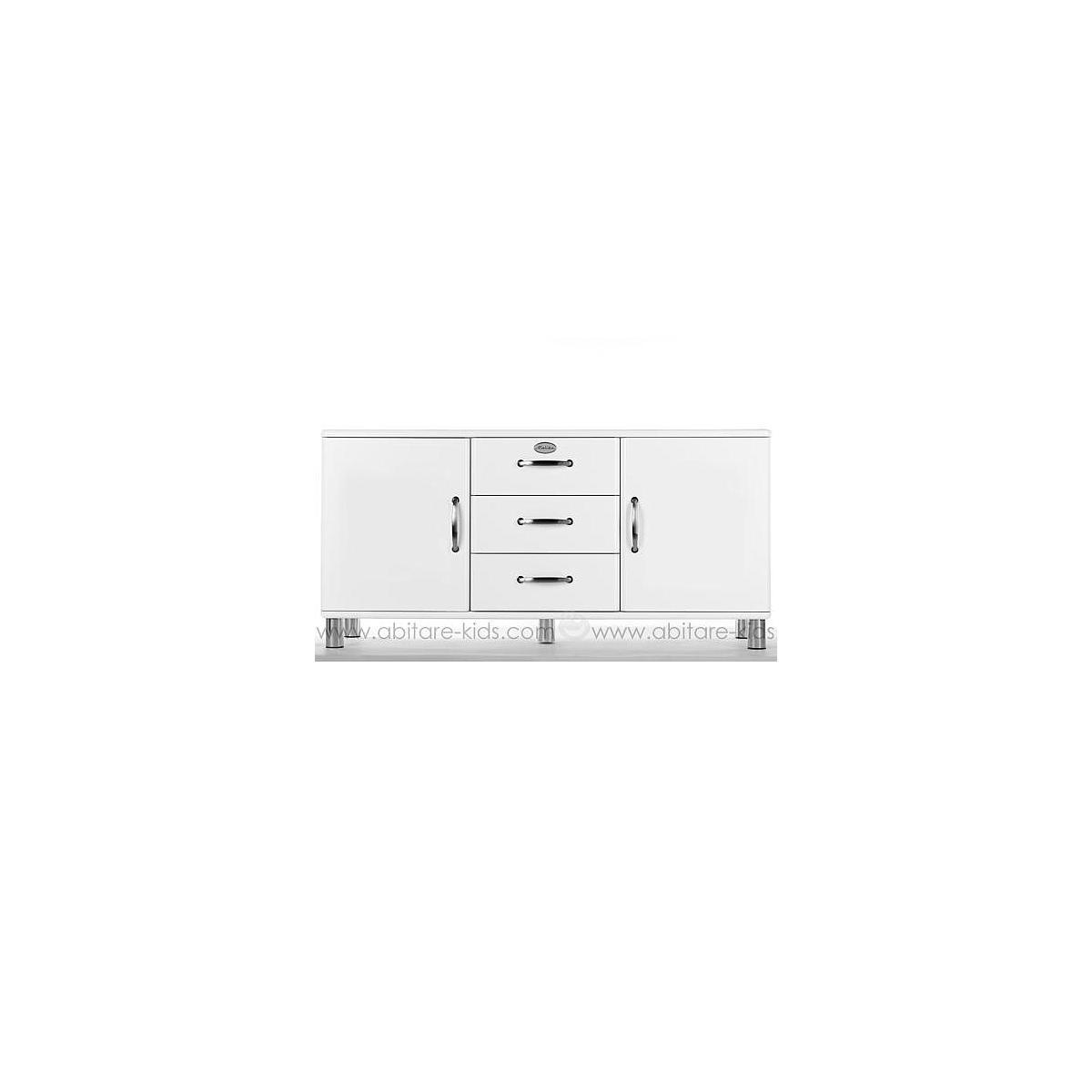 MALIBU by Tenzo Buffet 2 portes/ 3 tiroirs - Blanc