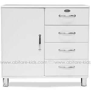 MALIBU by Tenzo Commode 1 porte/ 4 tiroirs - Blanc