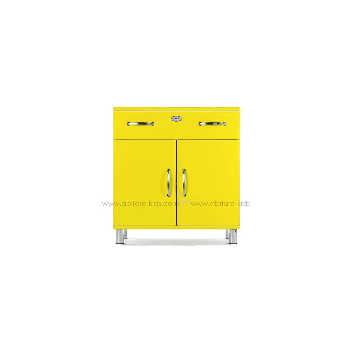 MALIBU by Tenzo Commode 2 portes et 1 tiroir - Jaune