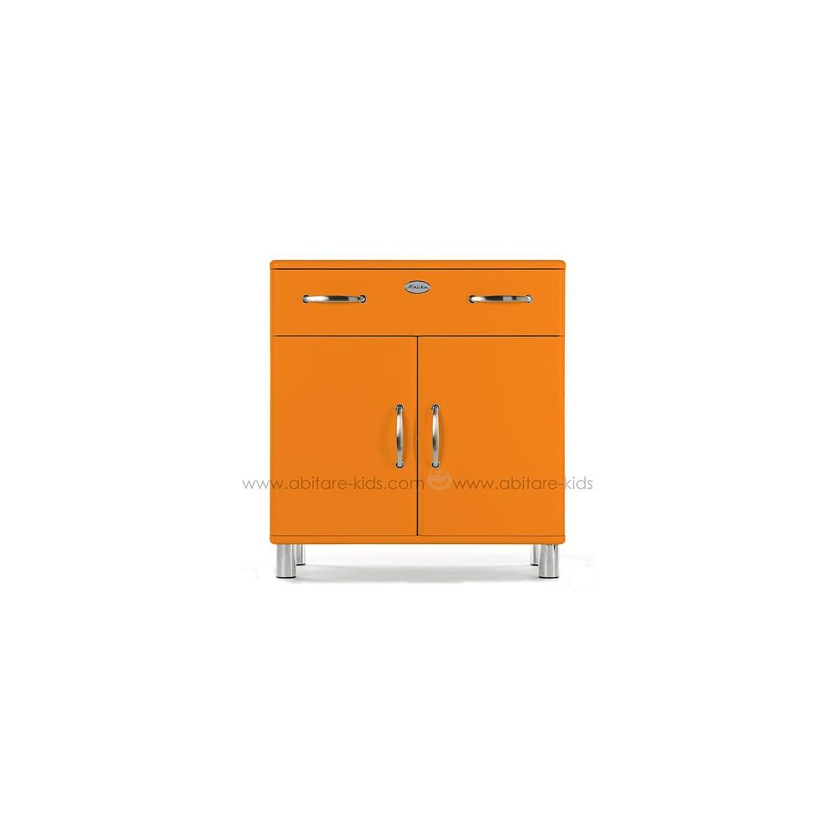 MALIBU by Tenzo Commode 2 portes et 1 tiroir - Orange