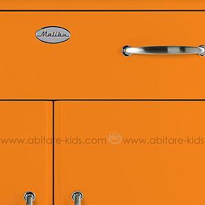 MALIBU by Tenzo Commode 2 portes et 1 tiroir - Orange