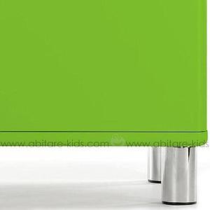 MALIBU by Tenzo Commode 2 portes et 1 tiroir - Vert