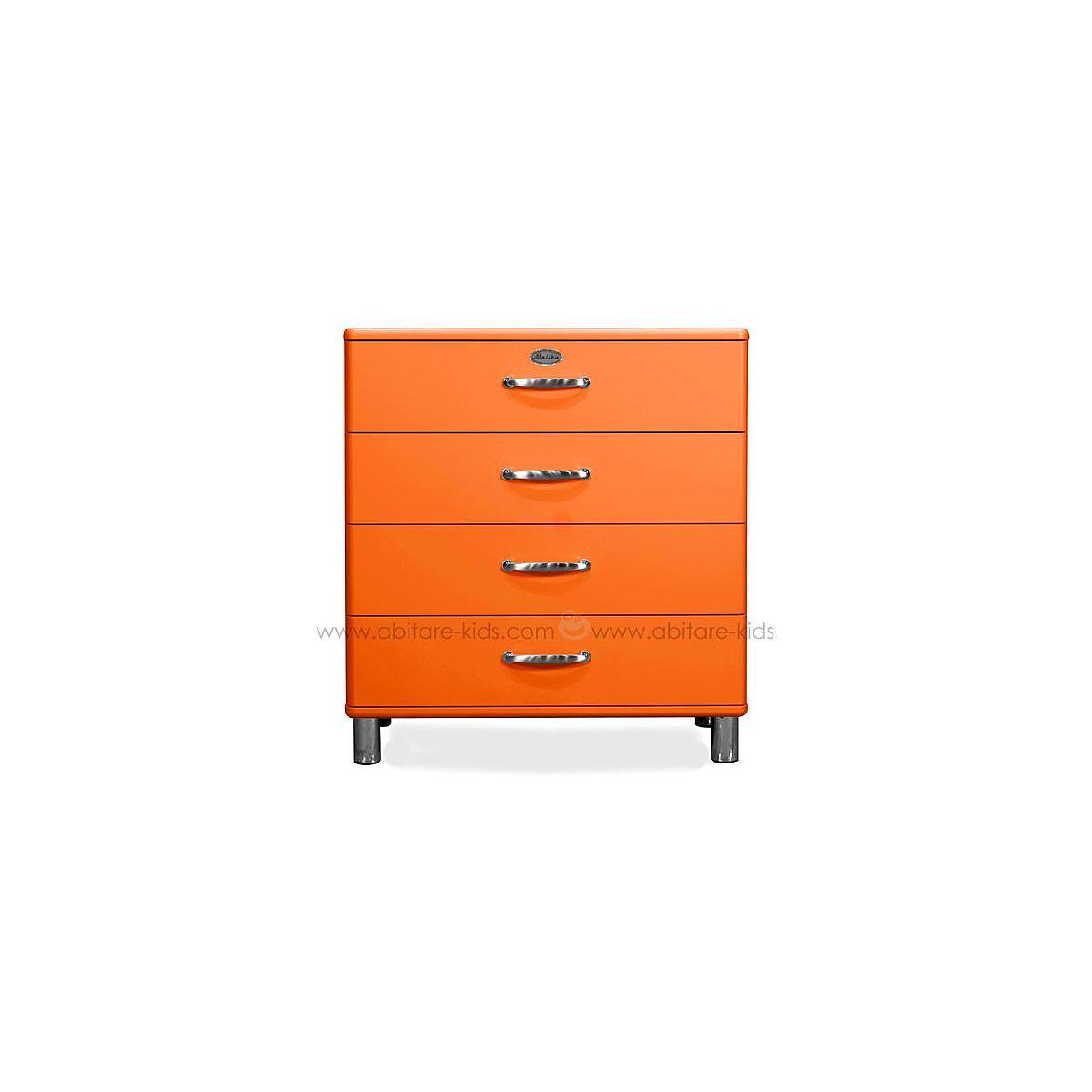 MALIBU by Tenzo Commode 4 tiroirs larges - Orange