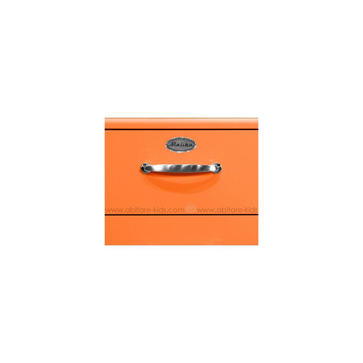 MALIBU by Tenzo Commode 4 tiroirs larges - Orange