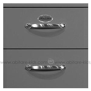 MALIBU by Tenzo Commode haute 5 tiroirs - Gris foncé
