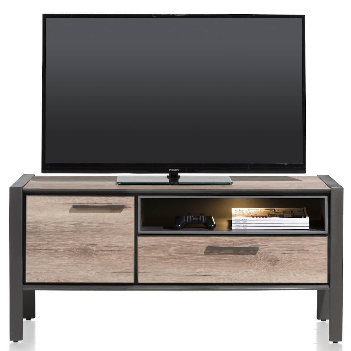 Meuble TV 130cm COPENHAGEN Henders & Hazel