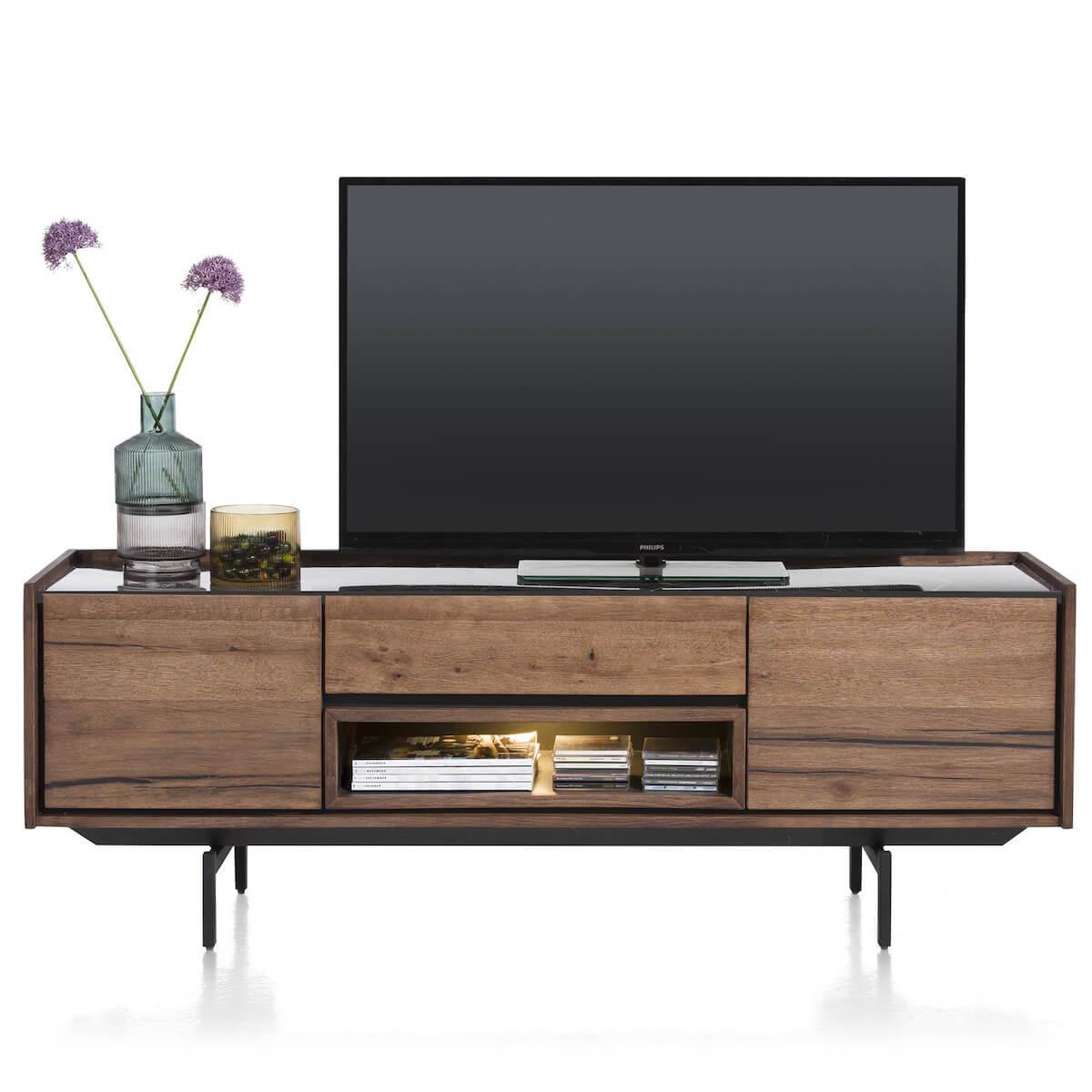 Meuble TV 160cm HALMSTAD Xooon