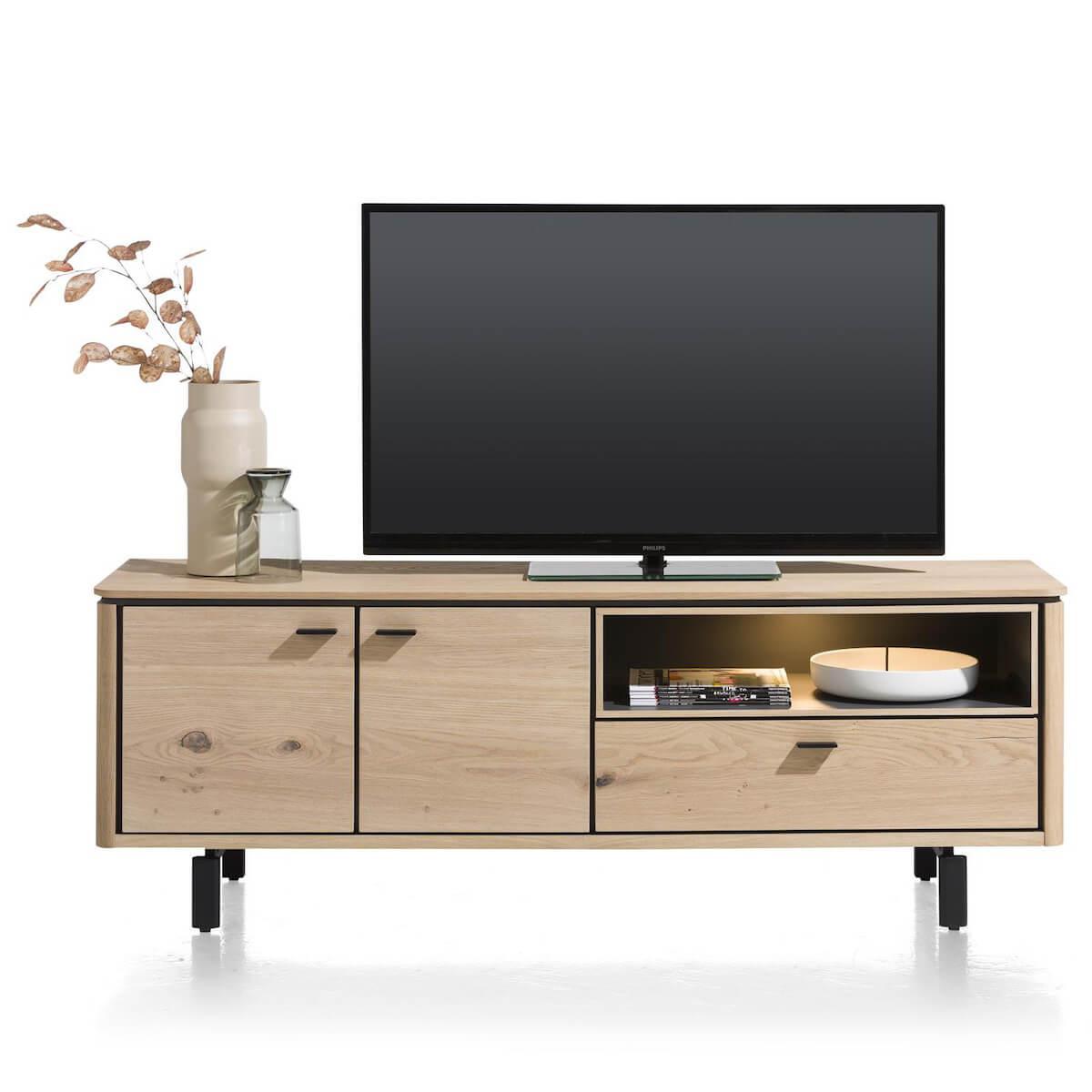 Meuble TV 170cm LIVADA Henders & Hazel naturel
