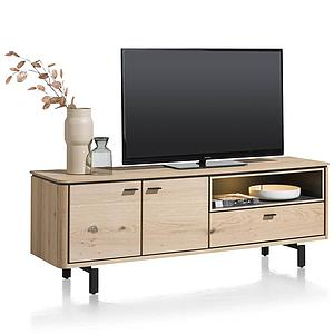 Meuble TV 170cm LIVADA Henders & Hazel naturel