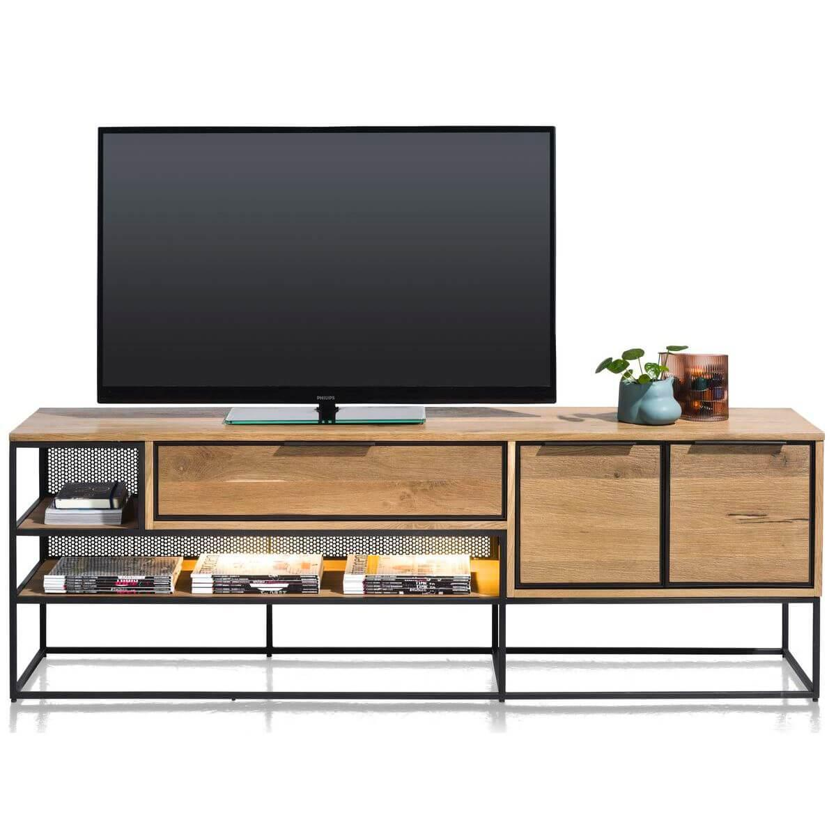 Meuble TV 180cm CITY Henders & Hazel railway brown