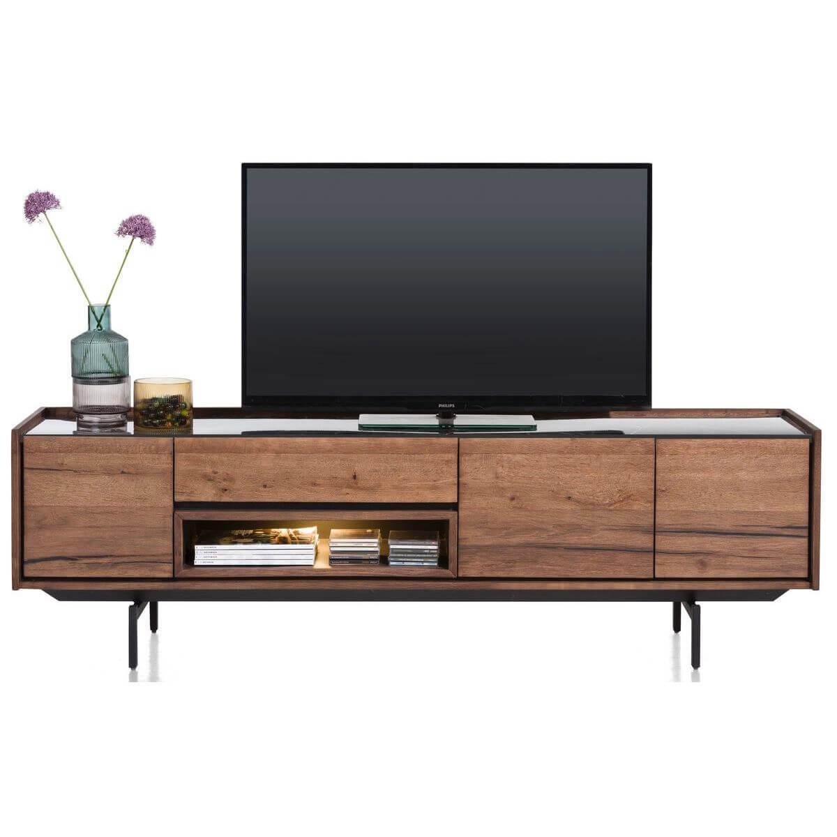 Meuble TV 190cm HALMSTAD Xooon
