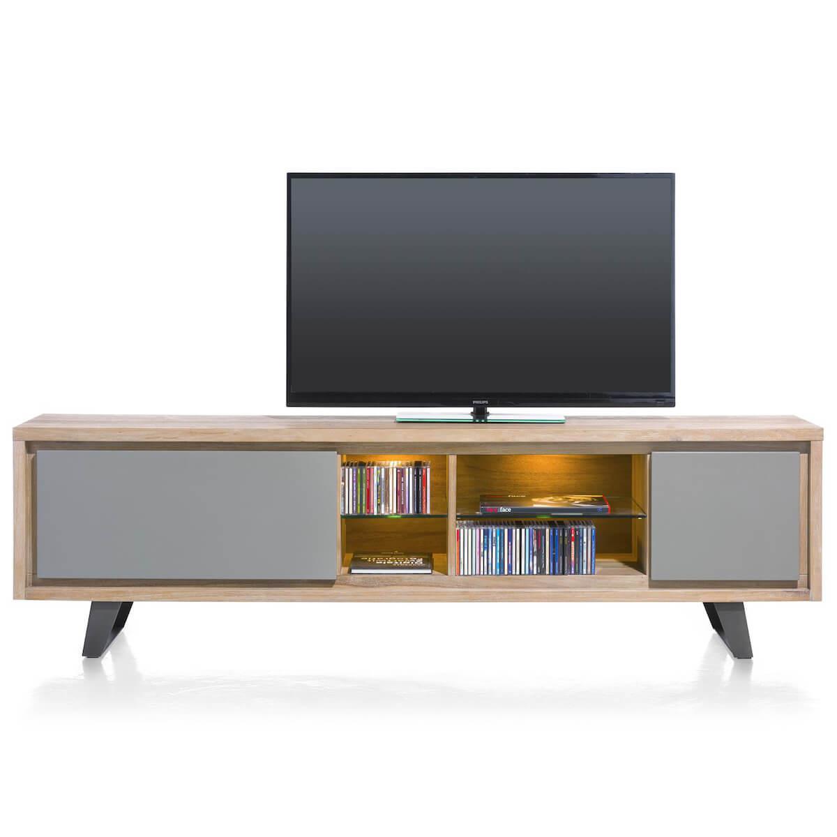 Meuble TV 210cm BOX Henders & Hazel Vintage Grey