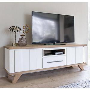 Meuble TV 210cm JARDIN Henders & Hazel blanc