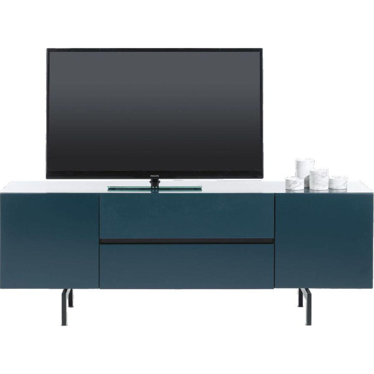 Meuble TV LURANO Xooon 175cm petrol