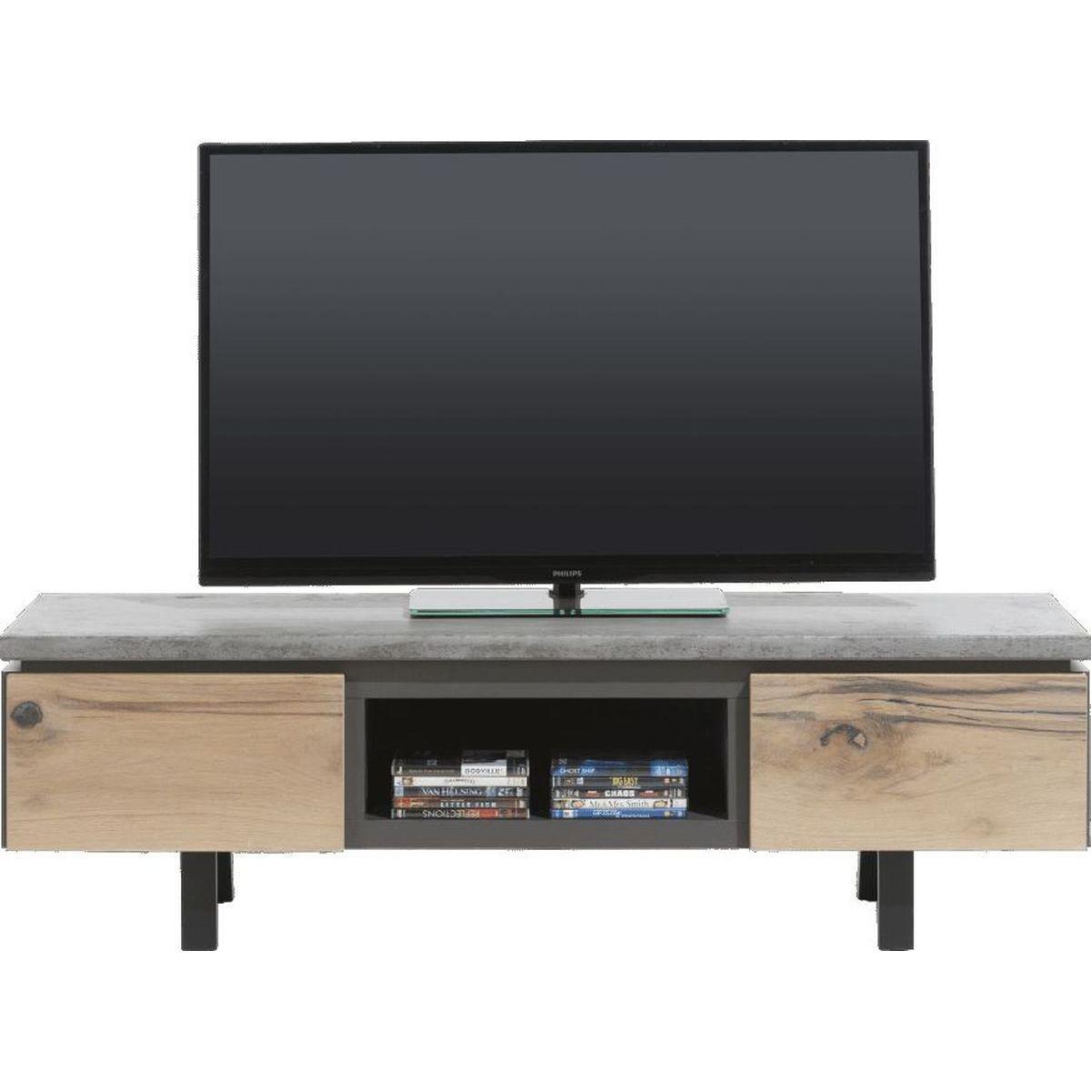 Meuble TV MYLAND Xooon 180cm béton