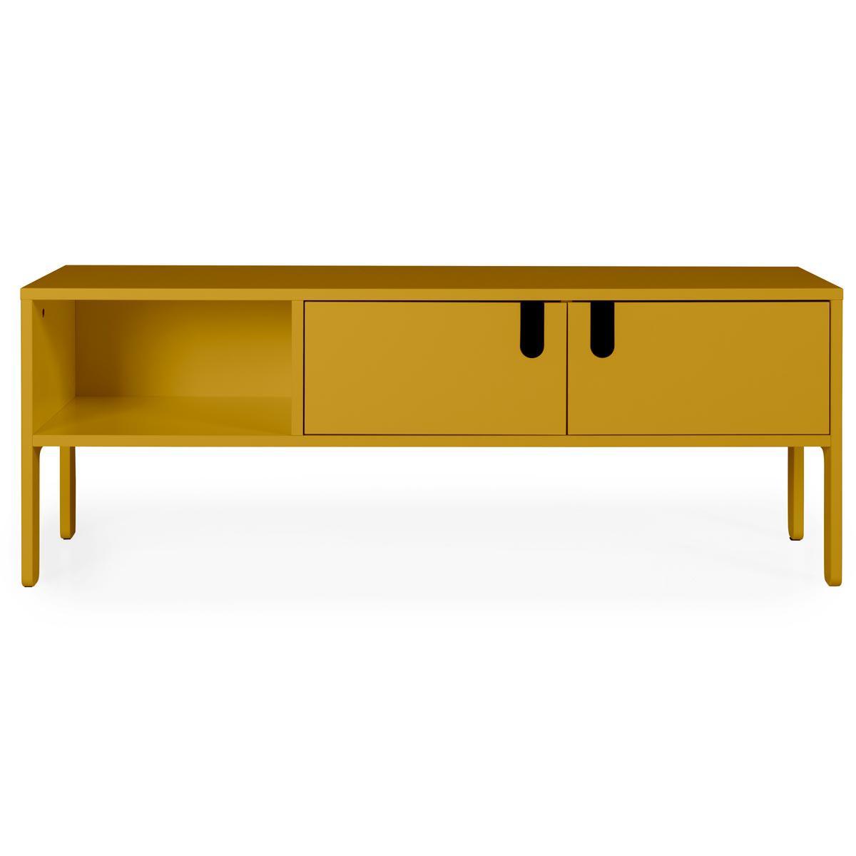 Quelle Hauteur Meuble Tv abitare-living.lu   meuble tv uno tenzo 137cm moutarde