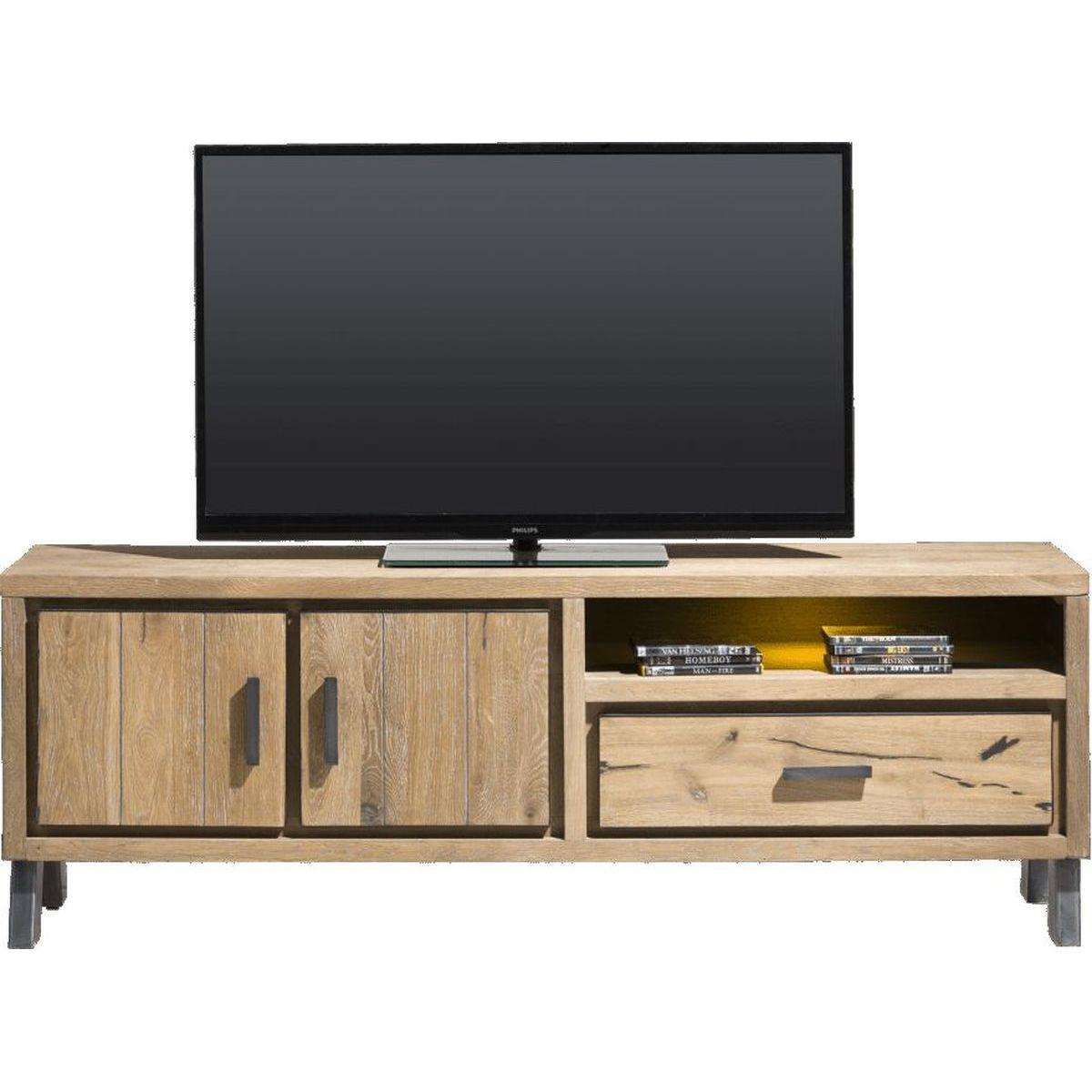 Meuble TV VITORIA HetH 170cm LED