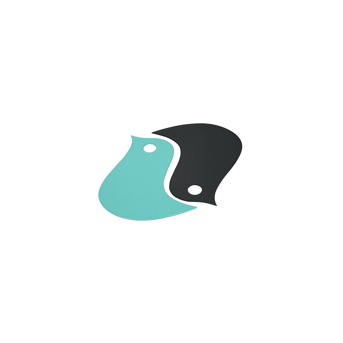 OISEAUX  by Fermob by Fermob Dessous de plat bleu lagune/carbone