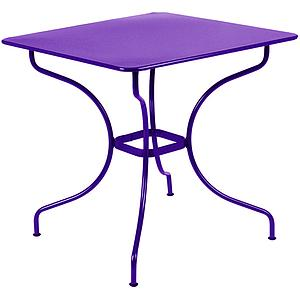 OPERA by Fermob Table carrée 77x77cm Aubergine