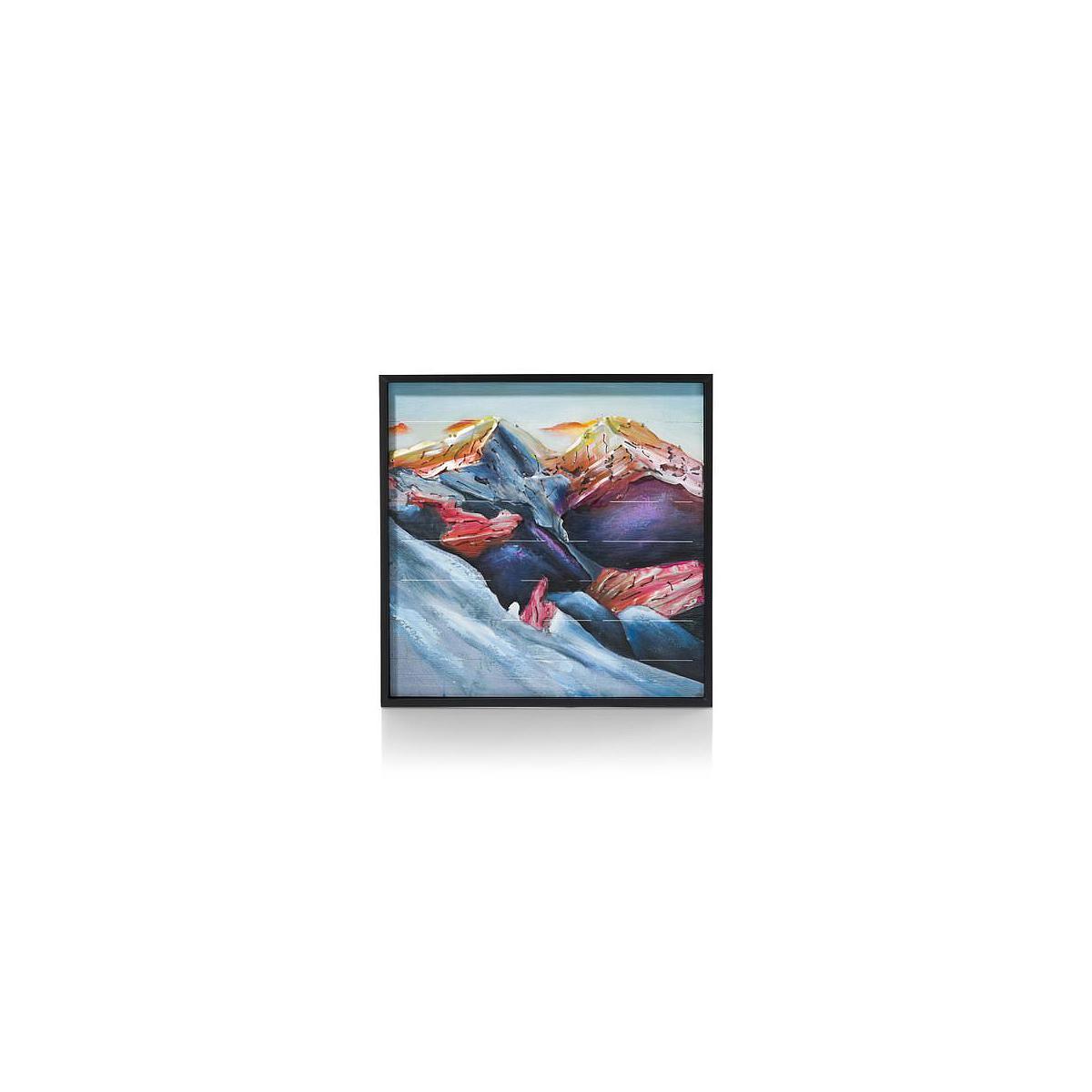 Peinture MOUNTAIN Coco Maison 73x73cm