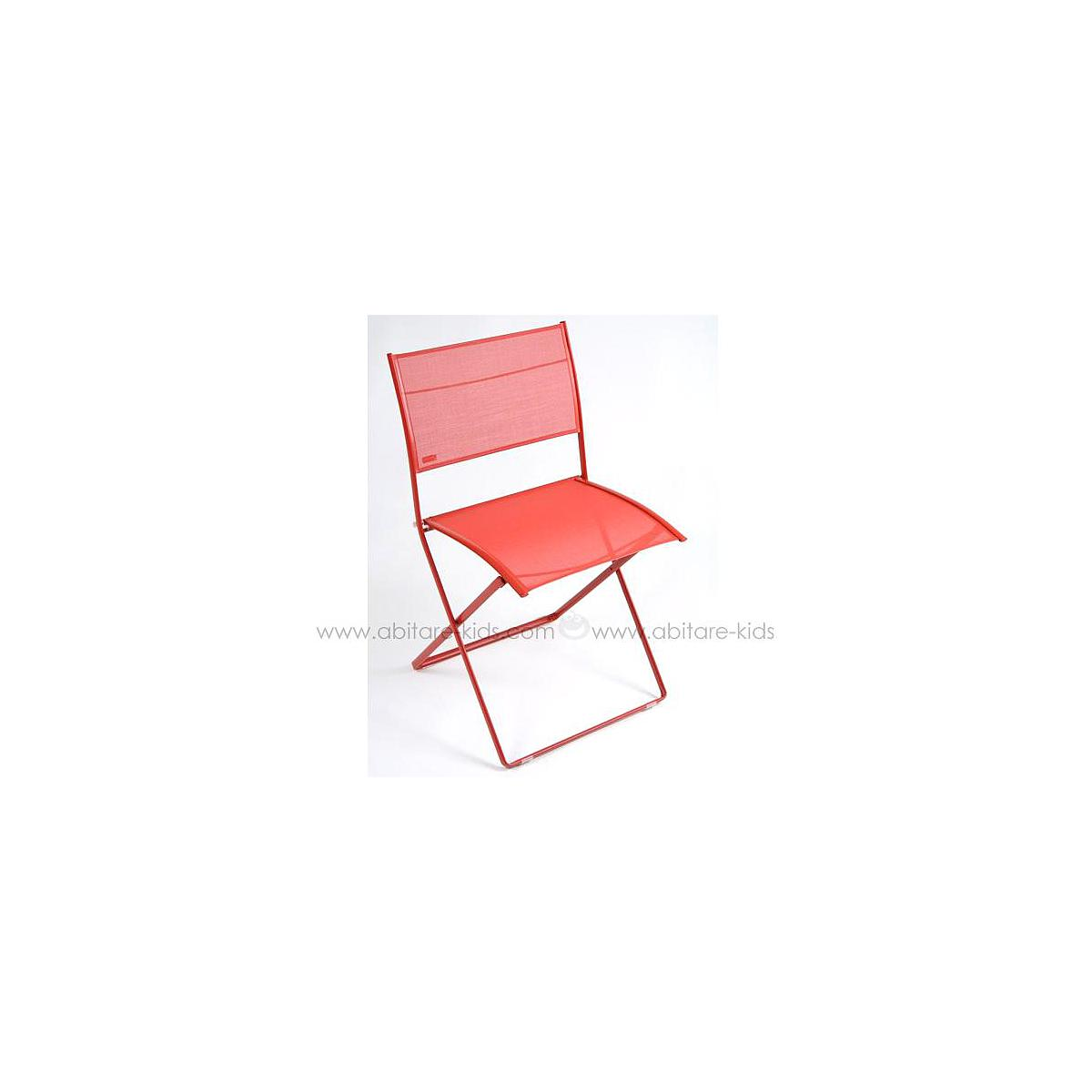 PLEIN AIR by Fermob Chaise pliante Coquelicot