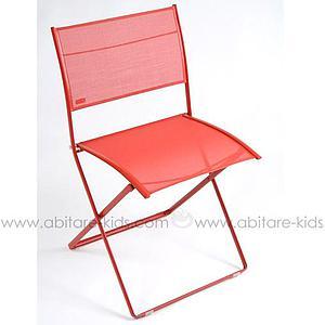 PLEIN AIR by Fermob Chaise pliante Coquelicot