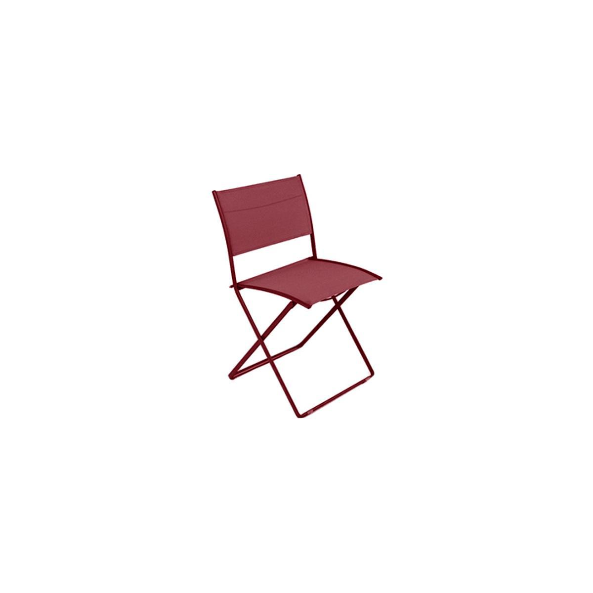 PLEIN AIR by Fermob Chaise pliante Rouge piment