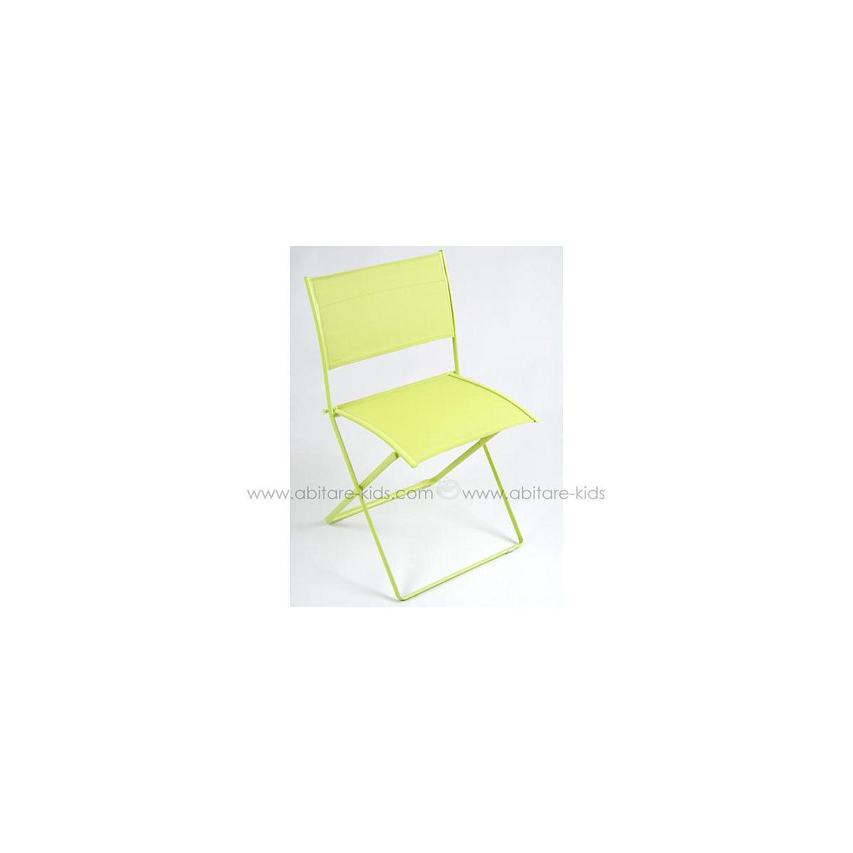 PLEIN AIR by Fermob Chaise pliante Verveine